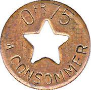 75 Centimes - Magister – reverse