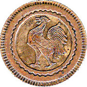 20 Centimes (Rooster) – obverse