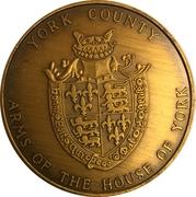 Token - Nebraska Centennial (York County) – obverse