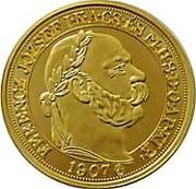 100 Korona - Franz Joseph I (1848/1867-1916, Coronation - Replica) – obverse
