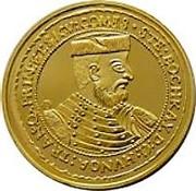 10 Ducat of Istvan Bocskai (Replica) – obverse