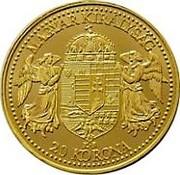 20 Korona - I. Ferenc József (Replica) – reverse