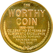 Token - The Worthy Coin – obverse