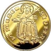 Forint - I. Lajos , the Great (Replica) – reverse