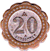 20 Centimes - A Consommer (M) – reverse