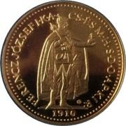 10 Korona - I. Ferenc József (Replica) – obverse