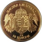 10 Korona - I. Ferenc József (Replica) – reverse