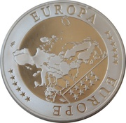 Medallion - Lithuania Europa – reverse