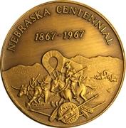 Token - Nebraska Centennial (Antelope County) – reverse