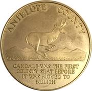Token - Nebraska Centennial (Antelope County) – obverse