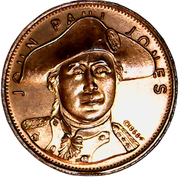 Token - John Paul Jones Flagship – obverse
