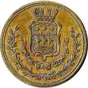 Token (Blazon of Paris / Royal arms of the United Kingdom) – obverse