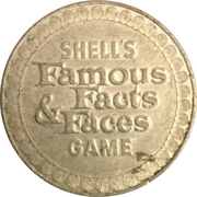 Token - Shell's Famous Facts and Faces Game (George Washington) – reverse