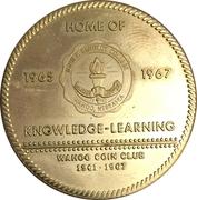 Token - Nebraska Centennial (Wahoo Coin Club) – obverse