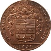 États de Bourgogne - Maire de Dijon François Baudot (2nd type) – obverse
