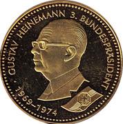 Token - Deutschland Einigkeit Recht Freiheit (Gustav Heinemann) – obverse