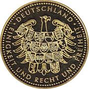 Token - Deutschland Einigkeit Recht Freiheit (Gustav Heinemann) – reverse