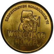 Token - Saskatchewan Homecomming – obverse