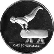 Token - Deutsche Sporthilfe (Carl Schuhmann) – obverse