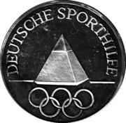 Token - Deutsche Sporthilfe (Carl Schuhmann) – reverse