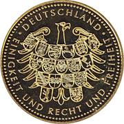 Token - Deutschland Einigkeit Recht Freiheit (Richard von Weizsäcker) – reverse