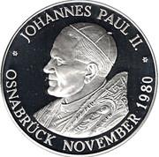 Token - Johannes Paul II Osnabrück – obverse