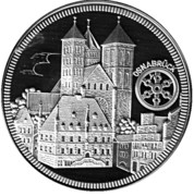 Token - Johannes Paul II Osnabrück – reverse