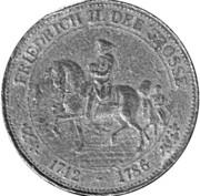 Token - 200 Jahre Friedrich der Grosse – obverse