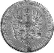 Token - 200 Jahre Friedrich der Grosse – reverse