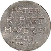 Token - Pater Rupert Mayer – reverse