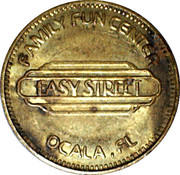 Token - Family Fun Center (Ocala, Fl) – obverse