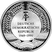 Token - Gründungsväter der DDR – reverse