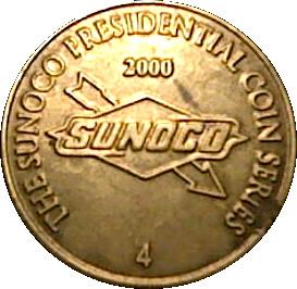 Nixon Sunoco Presidential Coin Series 2000 token US President Richard M