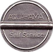 Car Wash Token - Aquarama – reverse