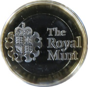 Royal Mint 2018 Premium Medal – reverse