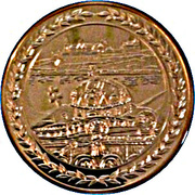 Token - Coronation of Hunyadi Matyas – reverse