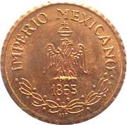 Token - Maximiliano I de México – reverse