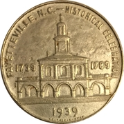 Token - Historical Celebration (Fayetteville, NC) – obverse
