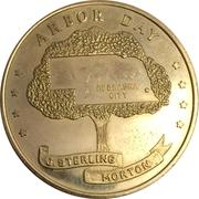 Token - Nebraska Centennial (Arbor Day) – obverse