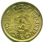 25 Cents - Chuck E Cheese (In Pizza We Trust) – obverse