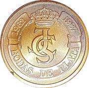Token - Bodas de plata 1962-1987 – obverse