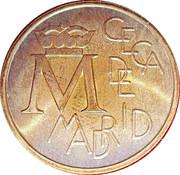 Token - Bodas de plata 1962-1987 – reverse