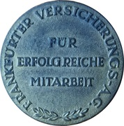 Token - Frankfurter Versicherungs – reverse