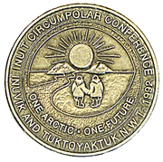 Token - Inuvik, North West Territories (Inuit Circumpolar Conference) – obverse