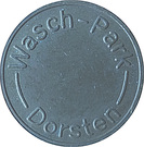 Car Wash Token - Wash-Park Dorsten – reverse