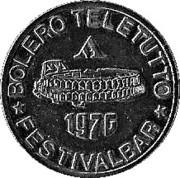 Token - Bolero Teletutto (Festivalbar) – obverse