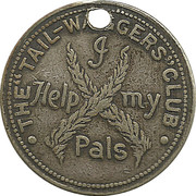 Token - The Tail-waggers Club – obverse