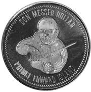 Don Messer Dollar - Summerside, Prince Edward Island – obverse