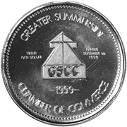Don Messer Dollar - Summerside, Prince Edward Island – reverse