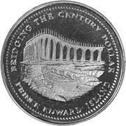Bridging the Century Dollar - Summerside, Prince Edward Island – obverse